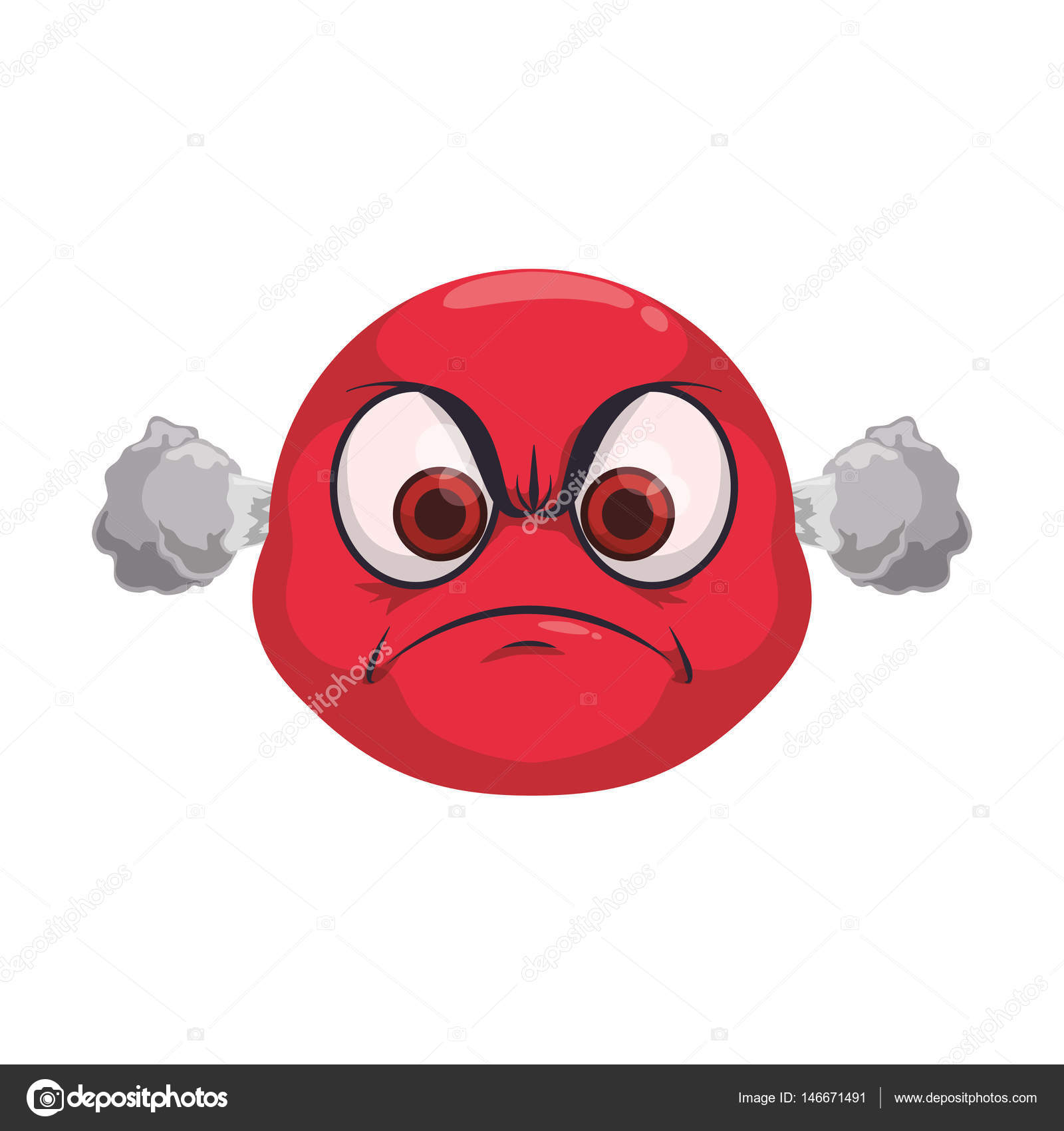 angry cartoon face stock vector djv 146671491 rh depositphotos com angry cartoon face pictures angry cartoon face pictures