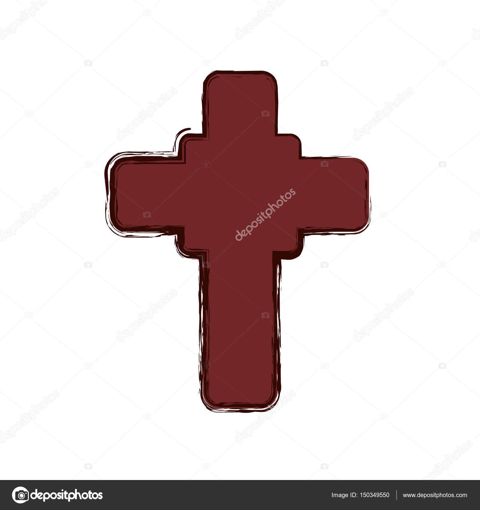 Christianity cross symbol stock vector djv 150349550 christianity cross symbol icon vector illustration graphic design vector by djv biocorpaavc Gallery