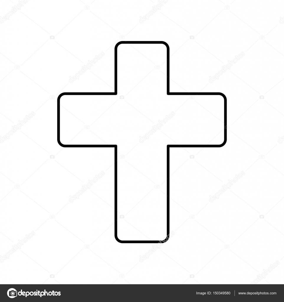 Christianity cross symbol stock vector djv 150349580 christianity cross symbol icon vector illustration graphic design vector by djv biocorpaavc Gallery