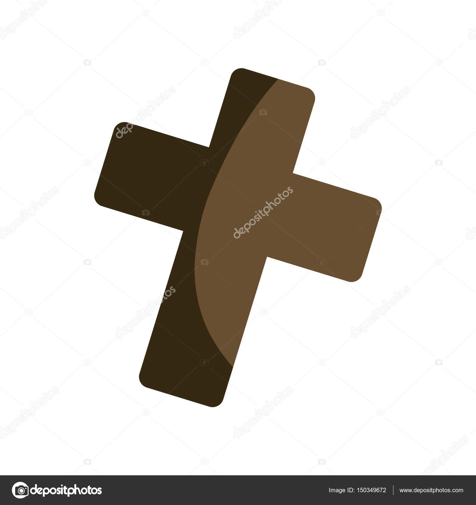 Christianity cross symbol stock vector djv 150349672 christianity cross symbol icon vector illustration graphic design vector by djv biocorpaavc Gallery