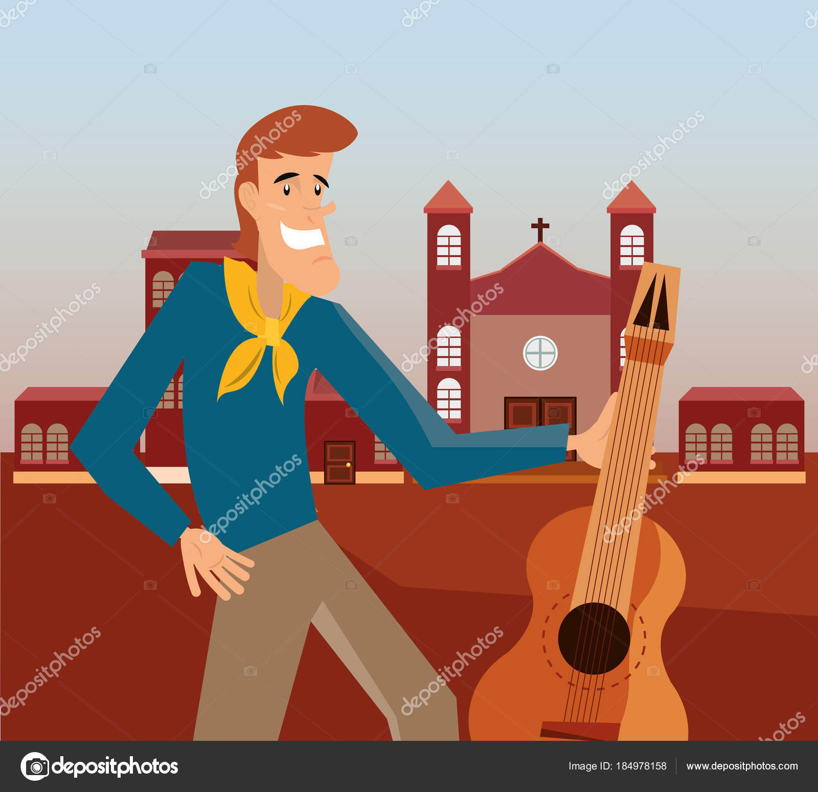 Festa Junina Design Stock Vector C Djv 184978158