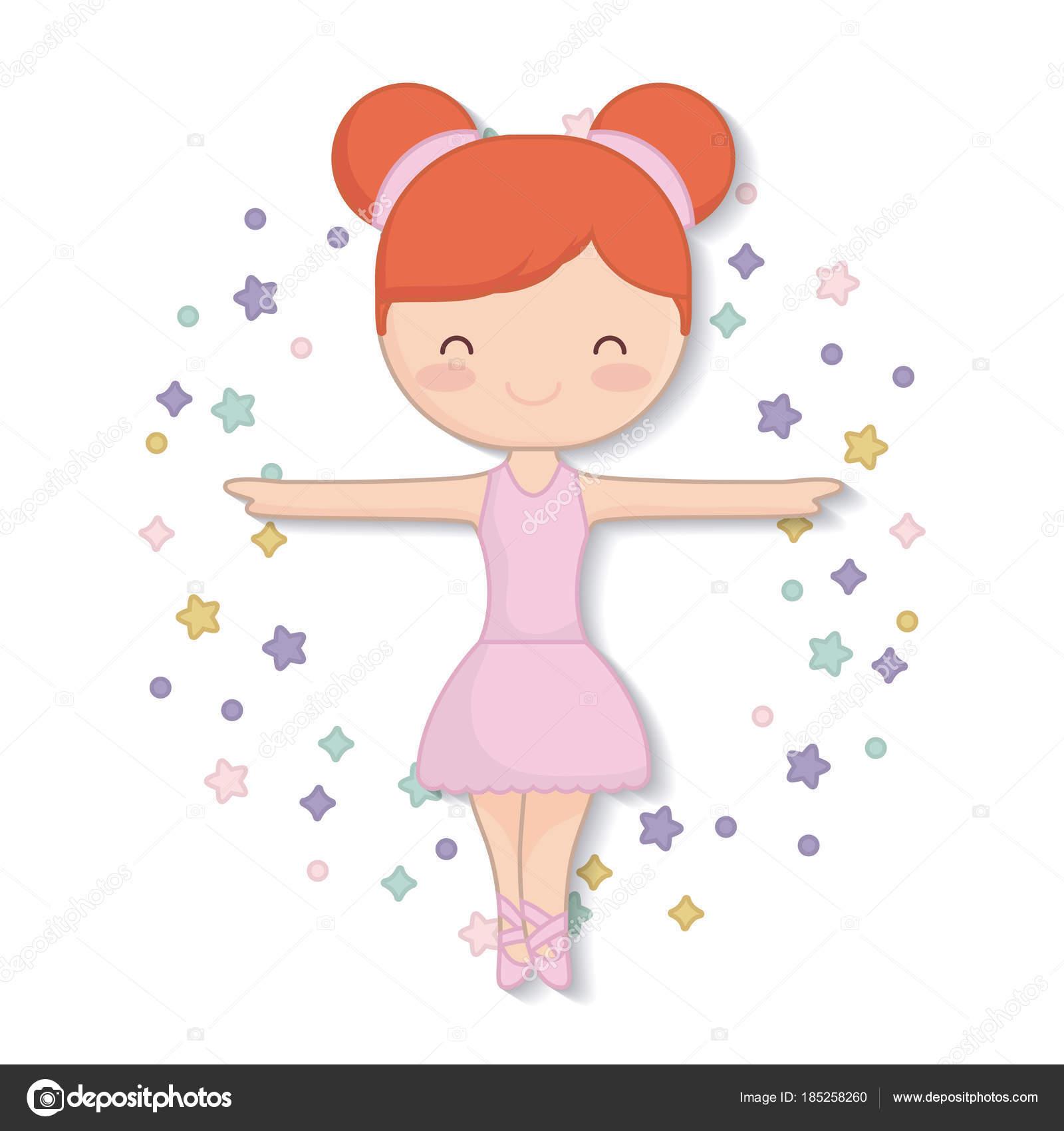 desenho de bailarina do balé vetores de stock djv 185258260