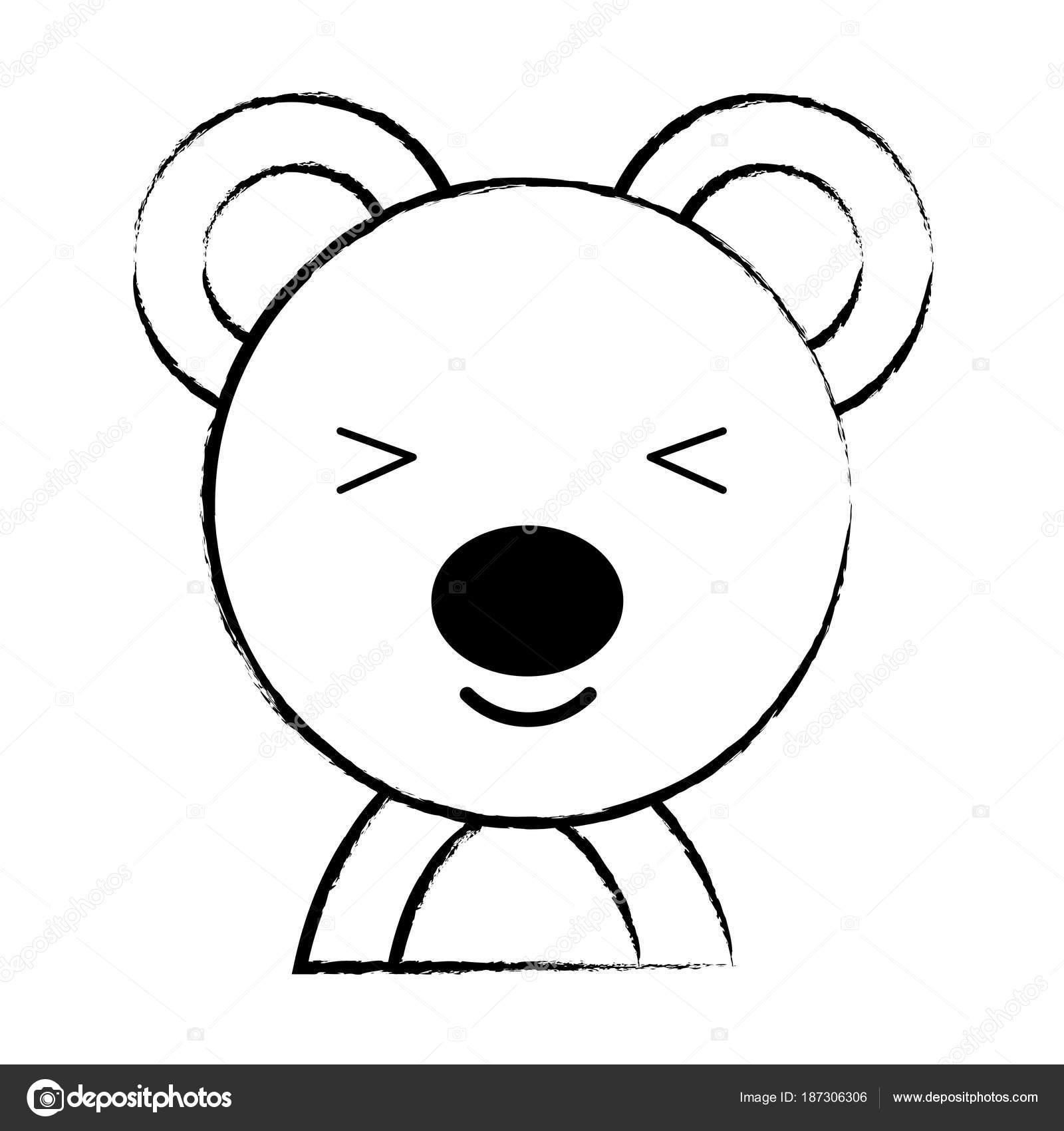 desenho de animais fofos vetor de stock djv 187306306