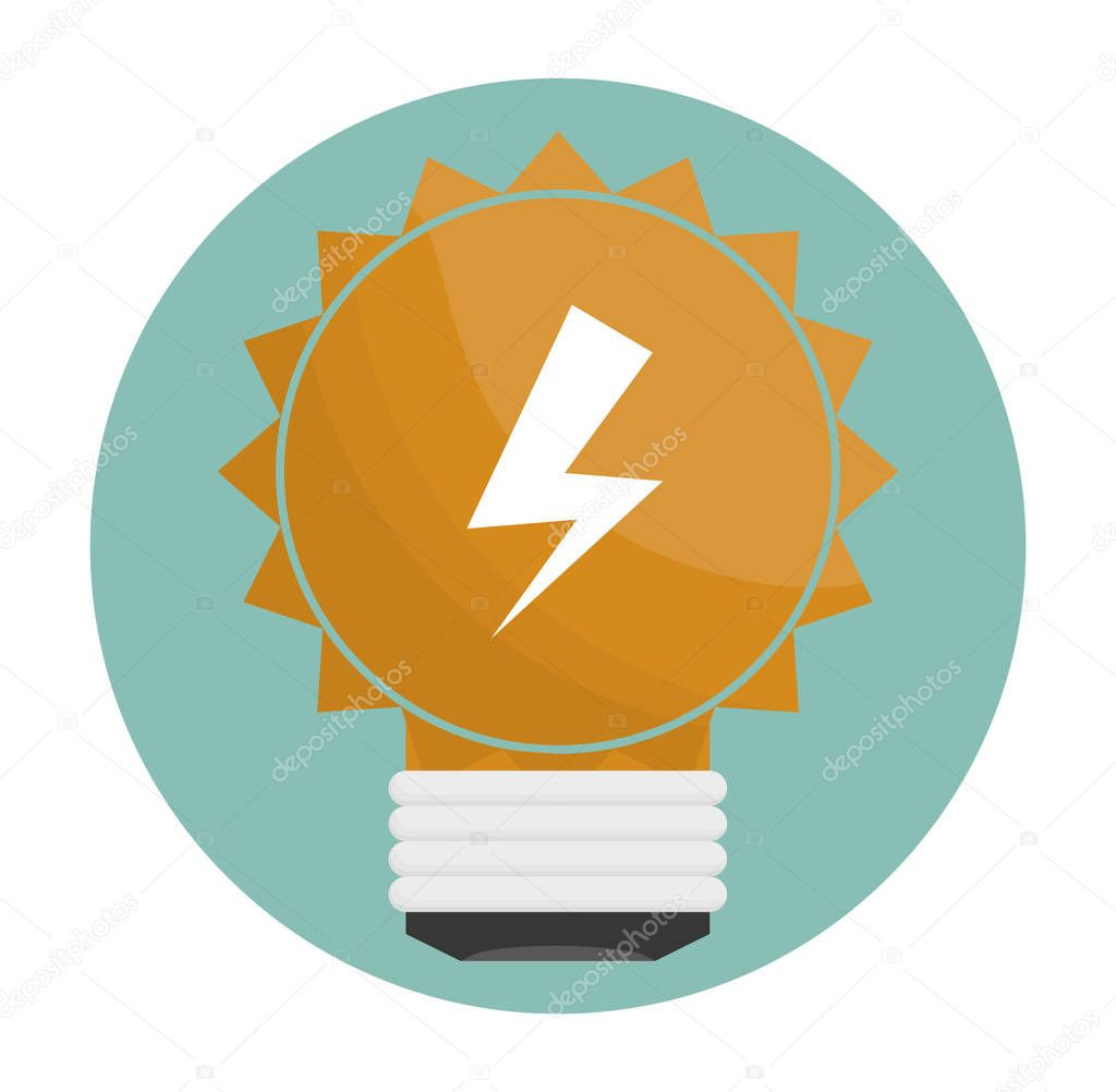 bulb light icon