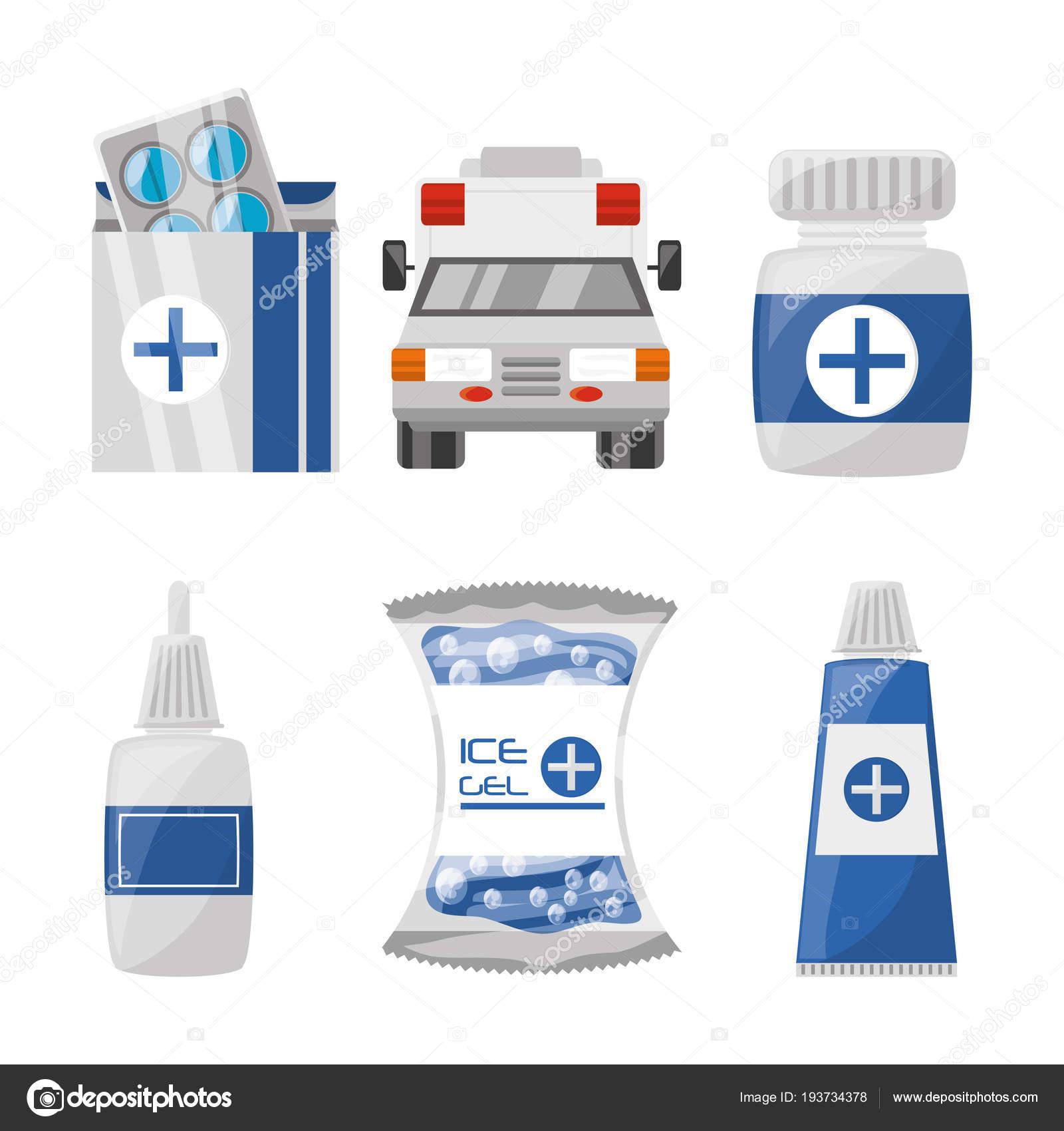 Kit primeros auxilios farmacia