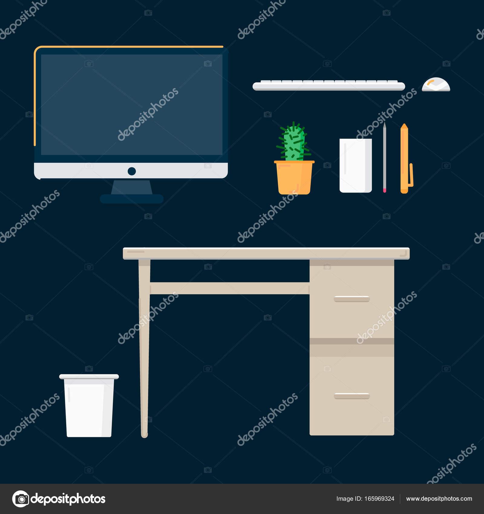 аксессуары для рабочего стола компьютера