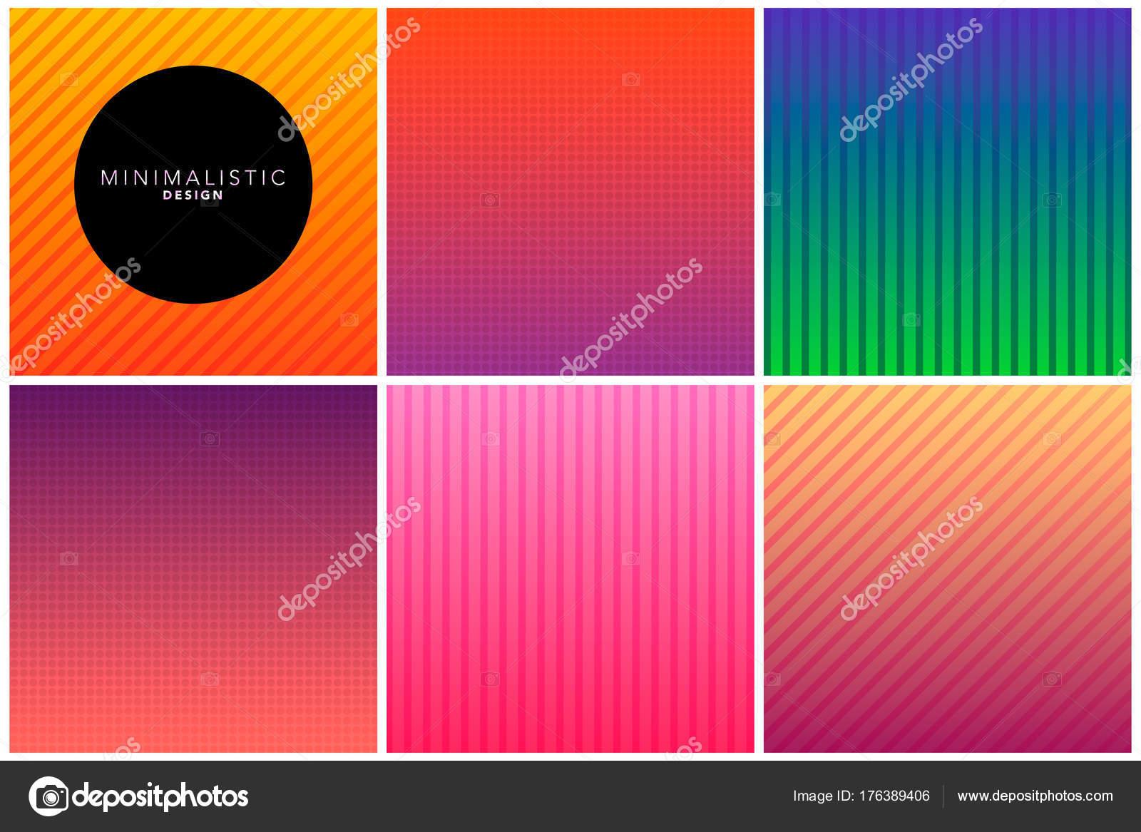 Abstrakte Linie Hintergrund im Farbverlauf Töne — Stockvektor ...