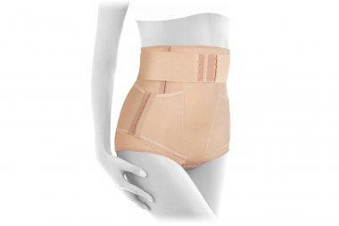 Postnatal Bandage. Medical Compression underwear. Orthopedic bandage underpants for lowering of the pelvic organs. Postpartum Tummy Control Belly Bandage. Female Bodyshaper. Postoperative bandage
