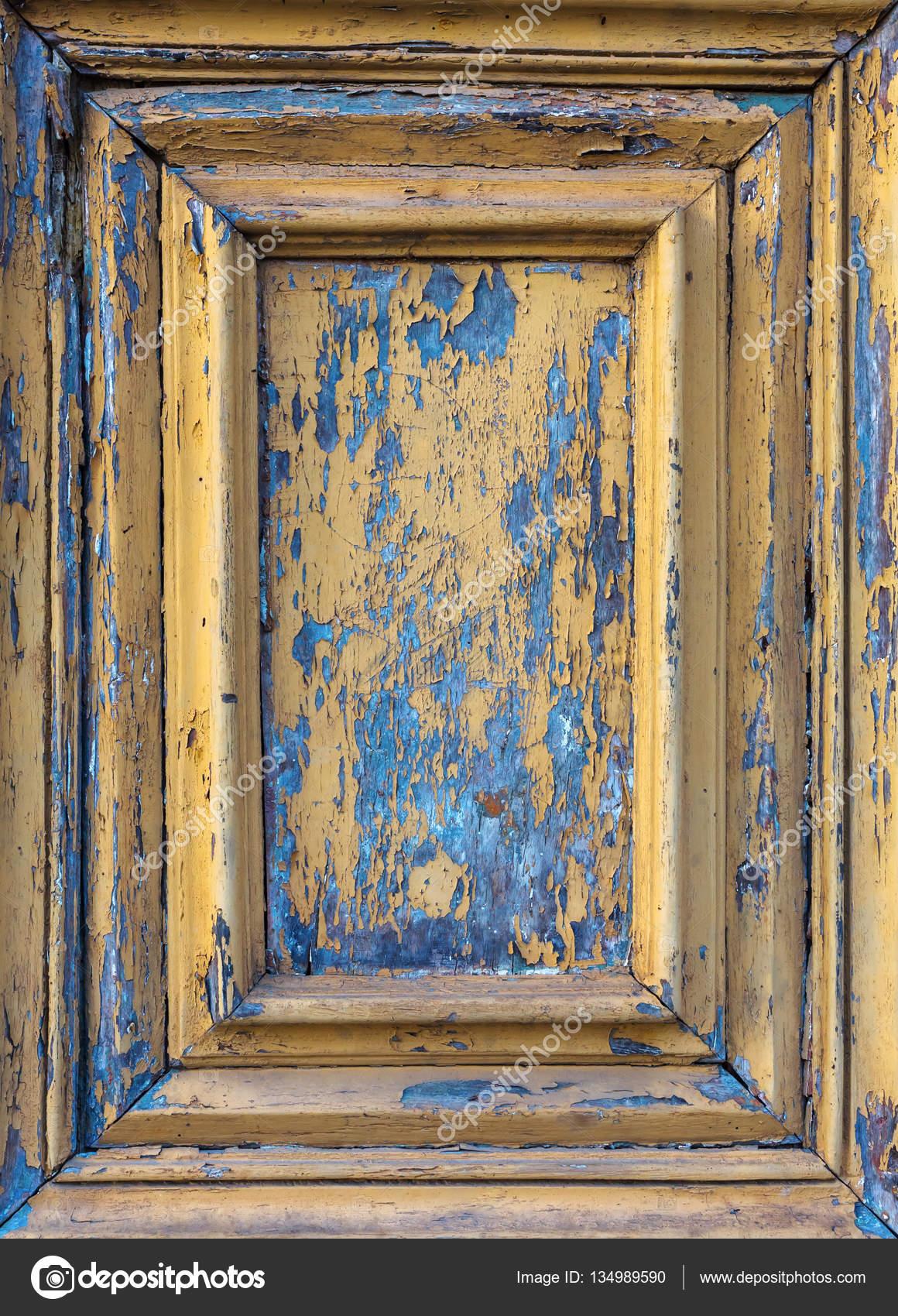 gerahmte Detail einer alten Tür — Stockfoto © Madrabothair #134989590