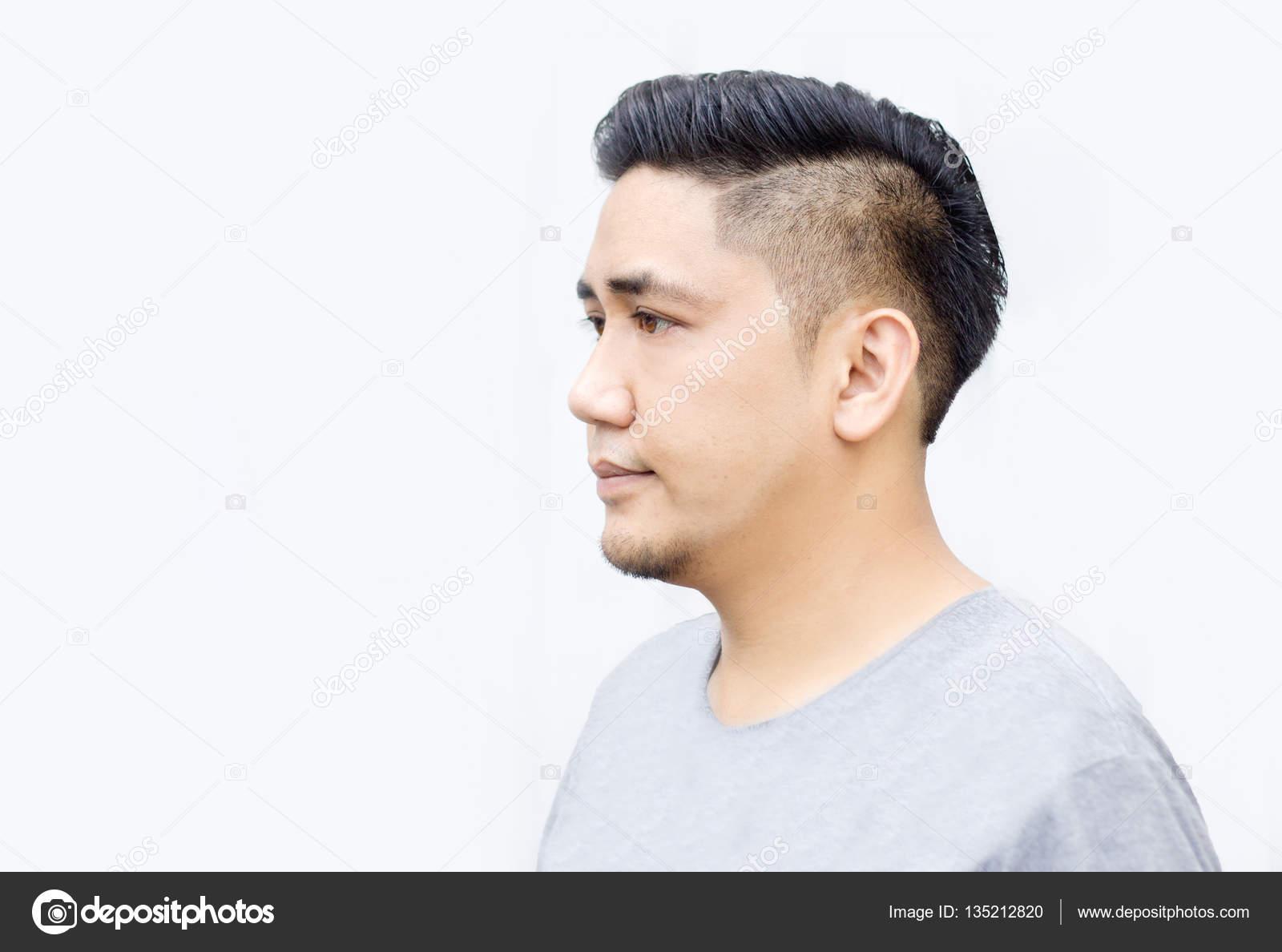 Brilliant Asian Thai Man Show New Hair Cut Stock Photo C Yanukit 135212820 Schematic Wiring Diagrams Phreekkolirunnerswayorg