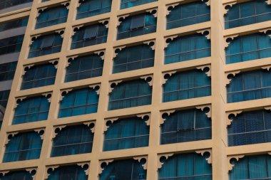 facade of a modern high-rise building