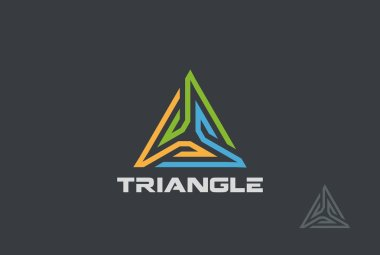 Triangle Logo abstract design