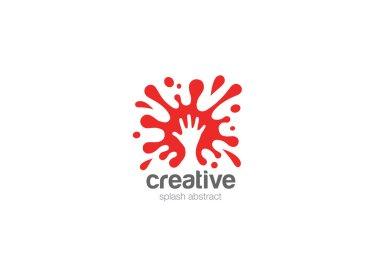 Splash Logo design vector template clip art vector