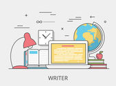 Copywriting Zapisovatel, služba