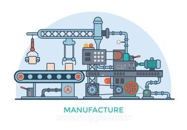 industrial manufacture conveyor machine