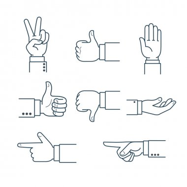 human Finger pointing