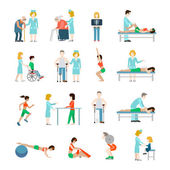 profesionální rehabilitace koncept