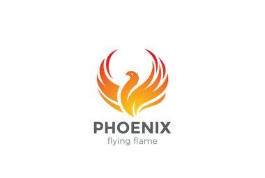 Phoenix Logo flying bird
