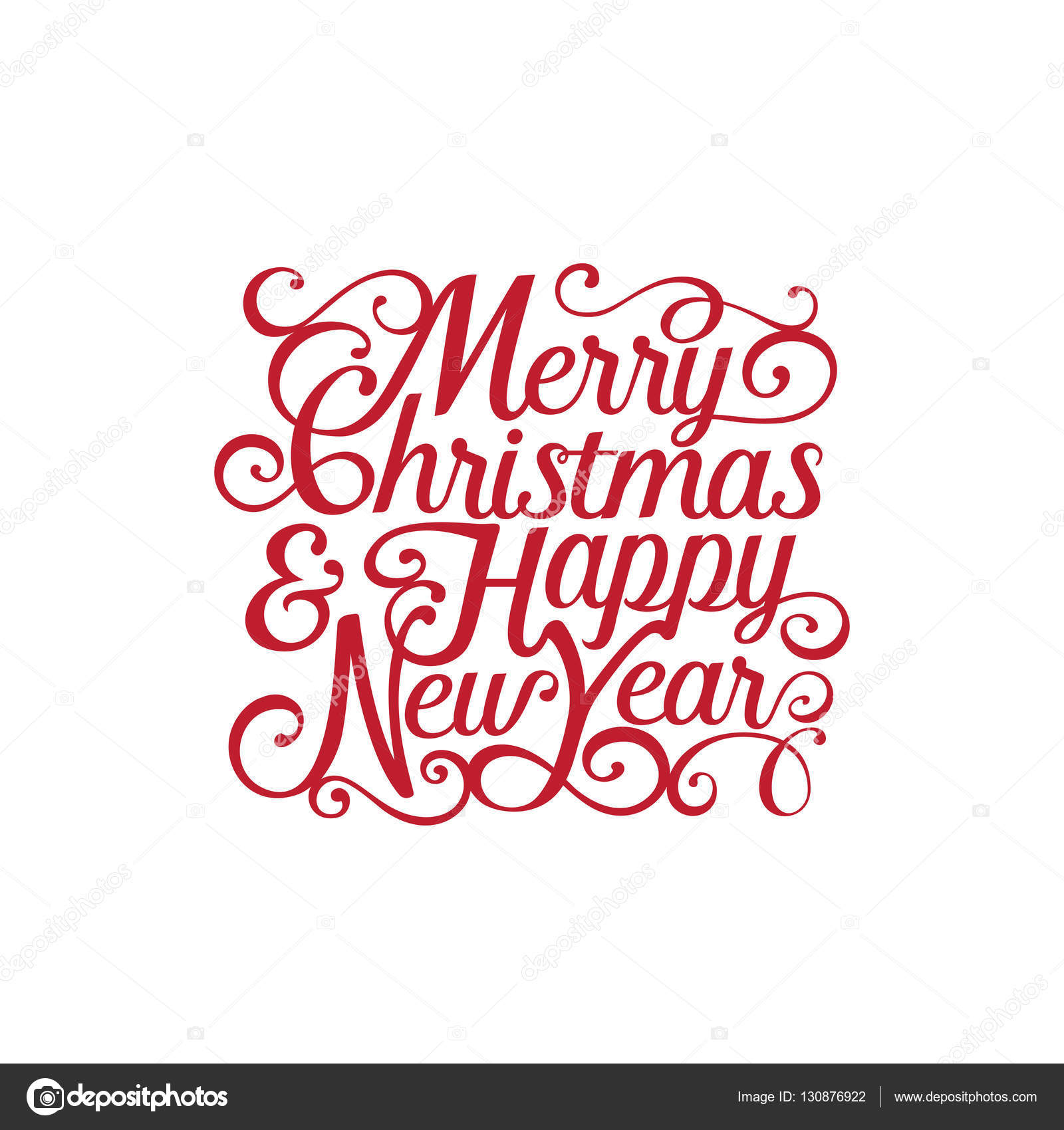 Happy New Year Lettering Design 97