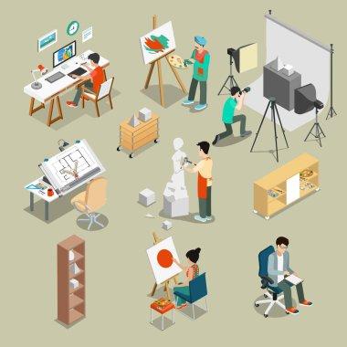 Art studio or workshop