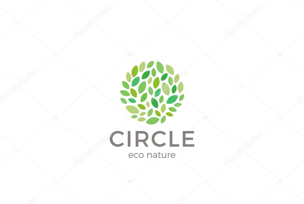 eco nature business logo