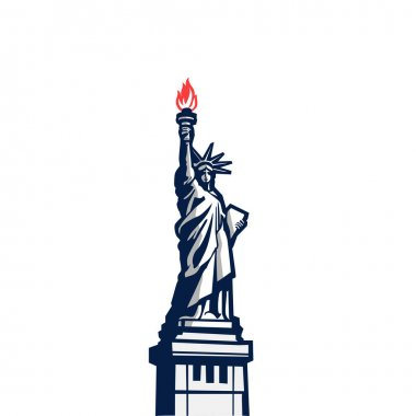 Liberty statue monument