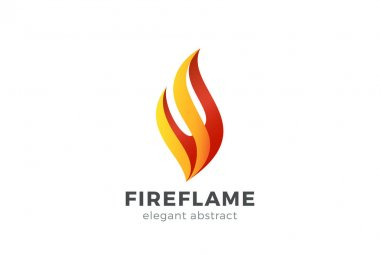 Fire Flame Logo design