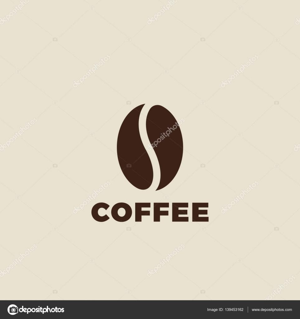Coffee Bean Logo Design Vector Stock Vector C Sentavio 139453162