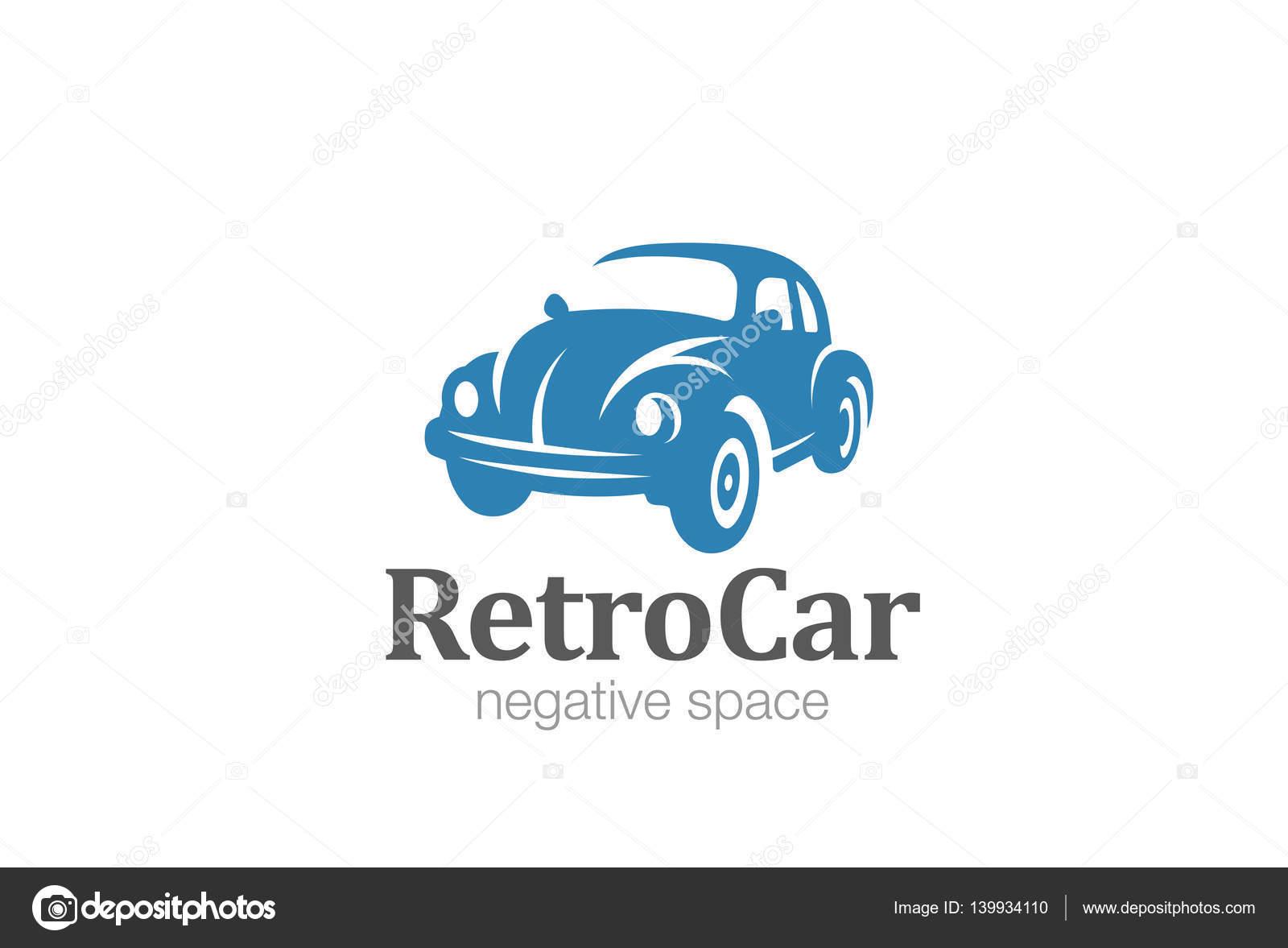 Vintage car Logo design vector — Stock Vector © Sentavio #139934110