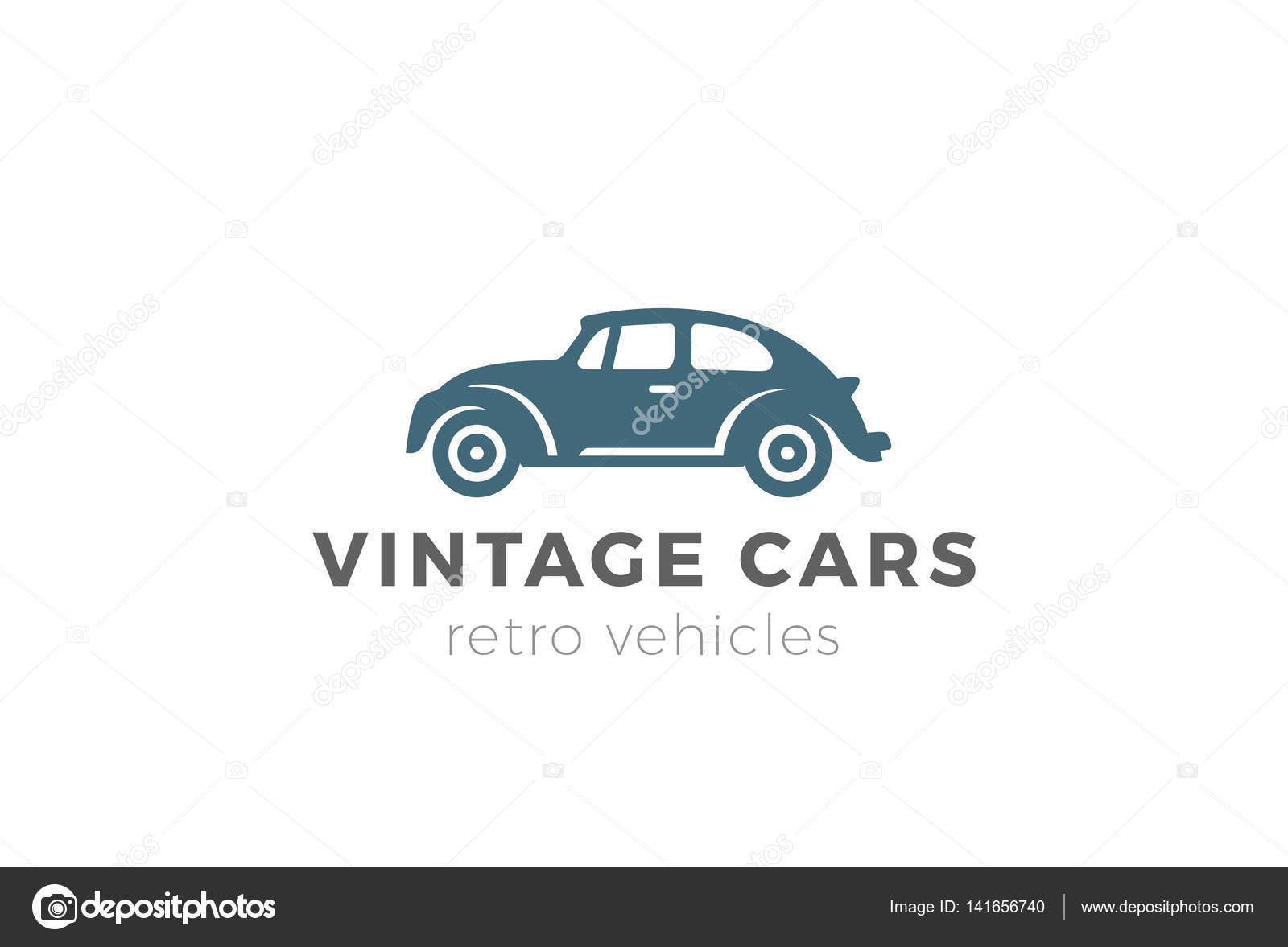 Vintage car Logo design — Stock Vector © Sentavio #141656740