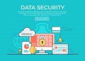 Fotografie  Datensicherheit Infografik Vorlage