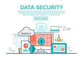 Fotografie Daten Sicherheitsvorlage Infografiken