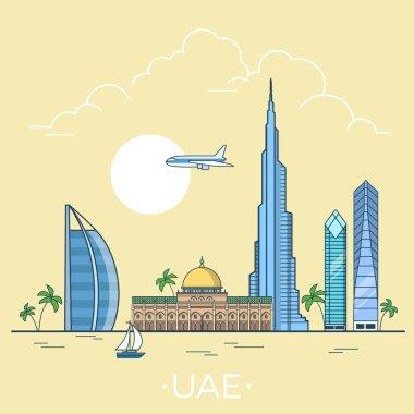 UAE United Arab Emirates country