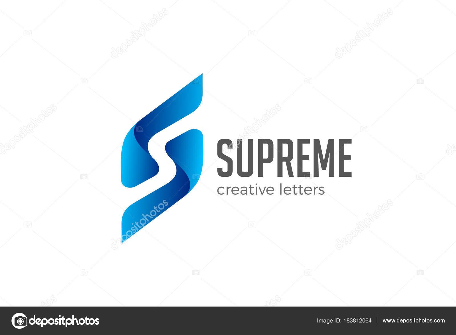 Letter s logo design vector template negative space style corporate letter s logo design vector template negative space style corporate business emblem logotype icon altavistaventures Image collections