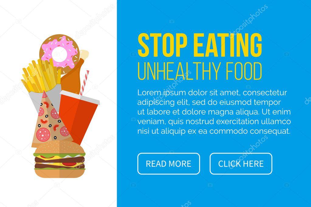sluta äta mat