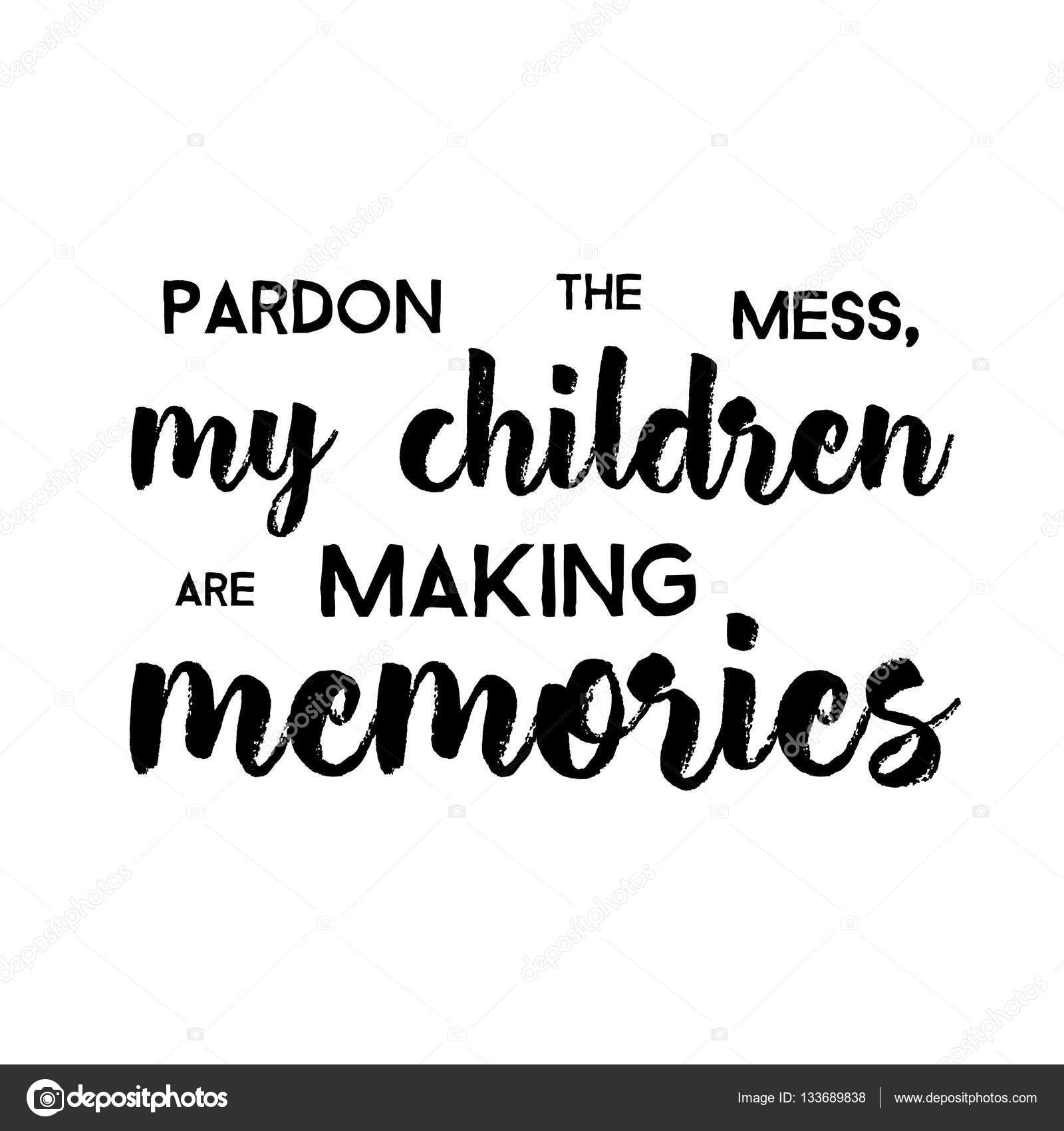 Pics: funny babies with quotes | Pardon The Mess My Children ...
