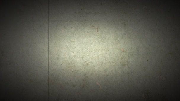 Ročník retro film rám s poškozením