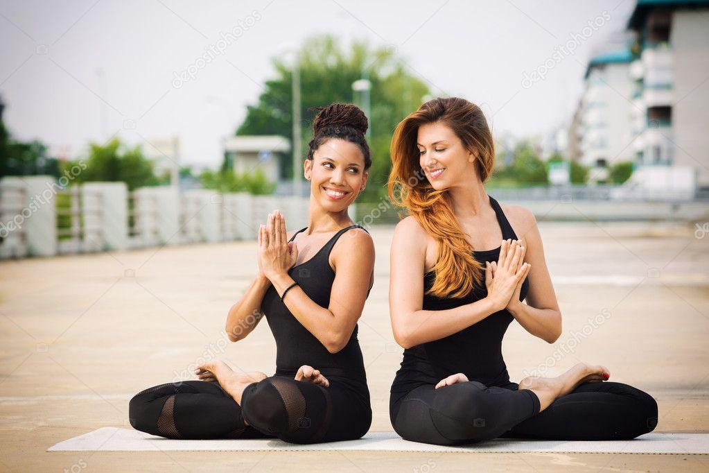 beautiful yoga women