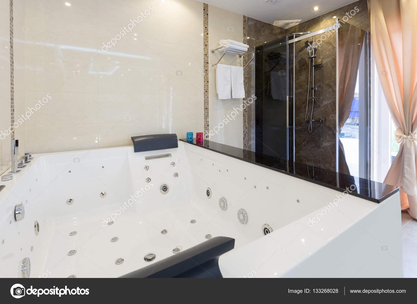 Hydro massage baths in hotel spa center — Stock Photo © rilueda ...