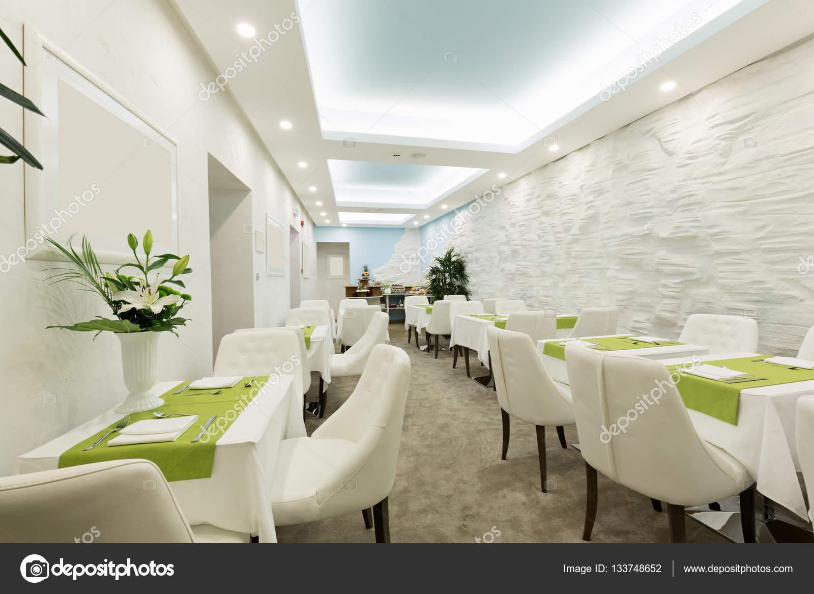 Hotel Di Lusso Interni : Ristorante in un interno di hotel di lusso u2014 foto stock © rilueda