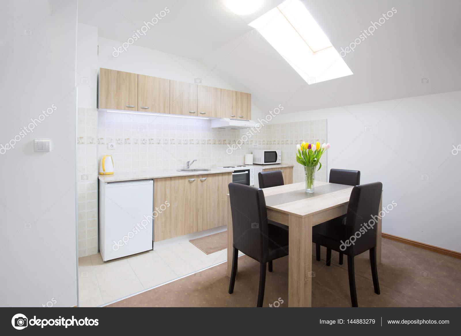 Wohnung Küche Interior design — Stockfoto © rilueda #144883279