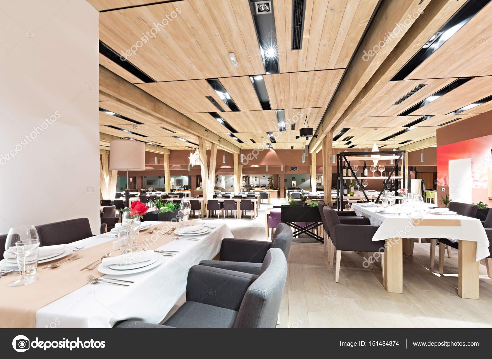 Hotel restaurant interieur eetkamer — Stockfoto © rilueda #151484874
