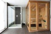 Sauna v lázeňském centru