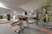 Fotografie Interior of a gym with equipment