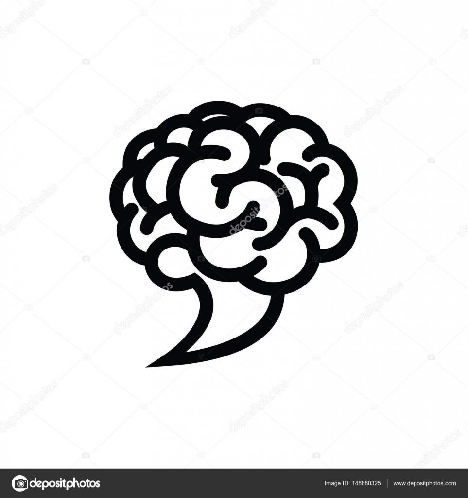 Gehirn Cloud Logo Vorlage — Stockvektor © AnnaSuchkova #148880325