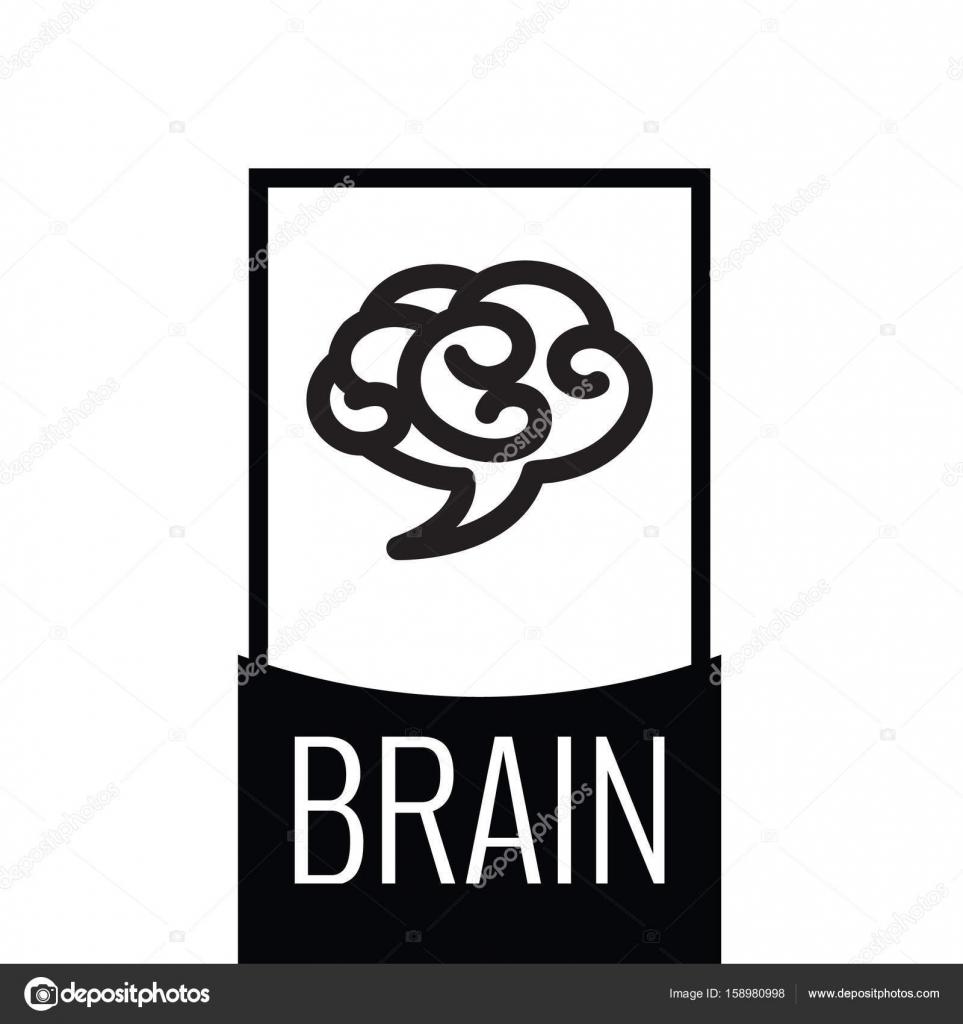 Gehirn Cloud Logo Vorlage — Stockvektor © AnnaSuchkova #158980998