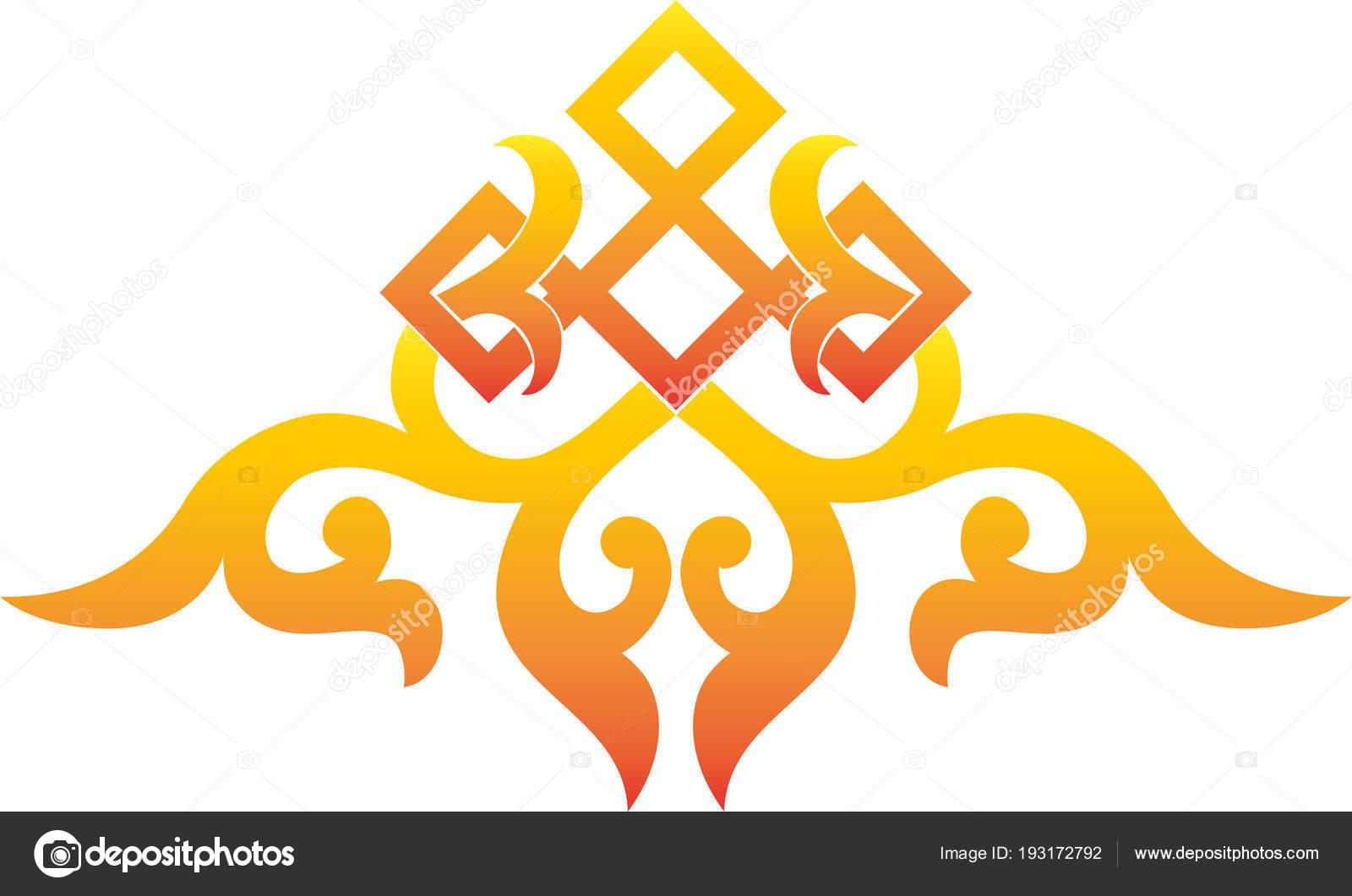Elemento dellannata floreale reticolo tradizionale asiatico vettore