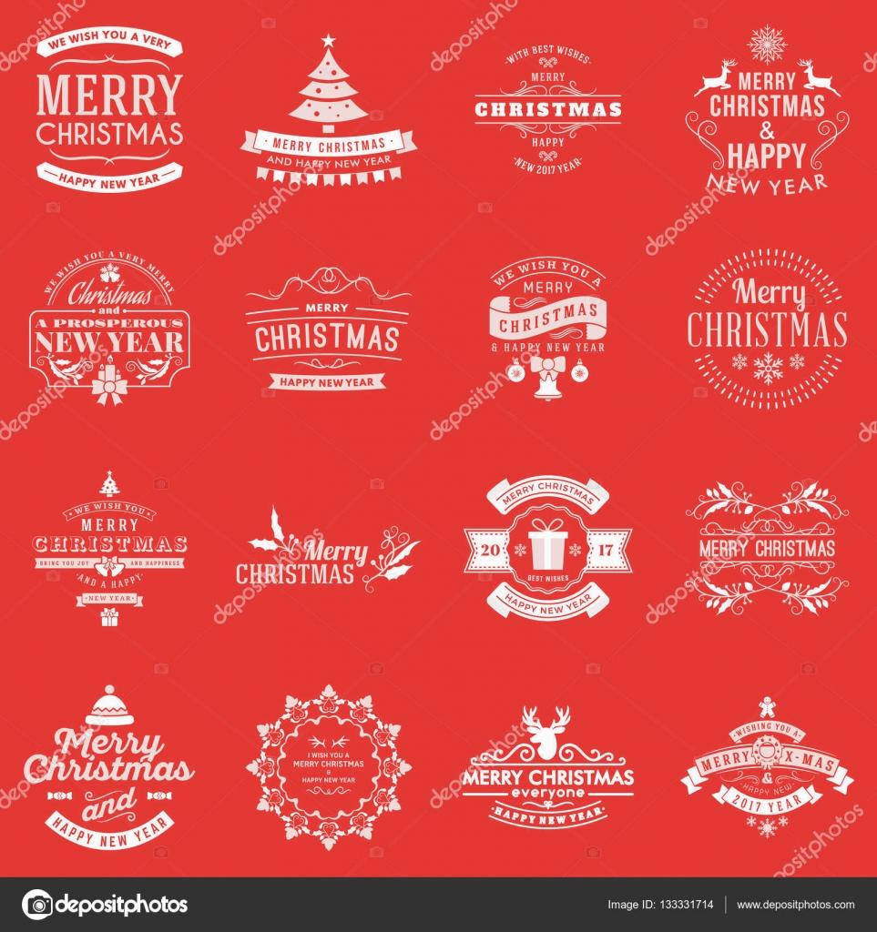 Buon Natale E Buone Feste Natalizie.Vettore Di Buone Feste Natalizie Elementi Di Vettore Di Natale