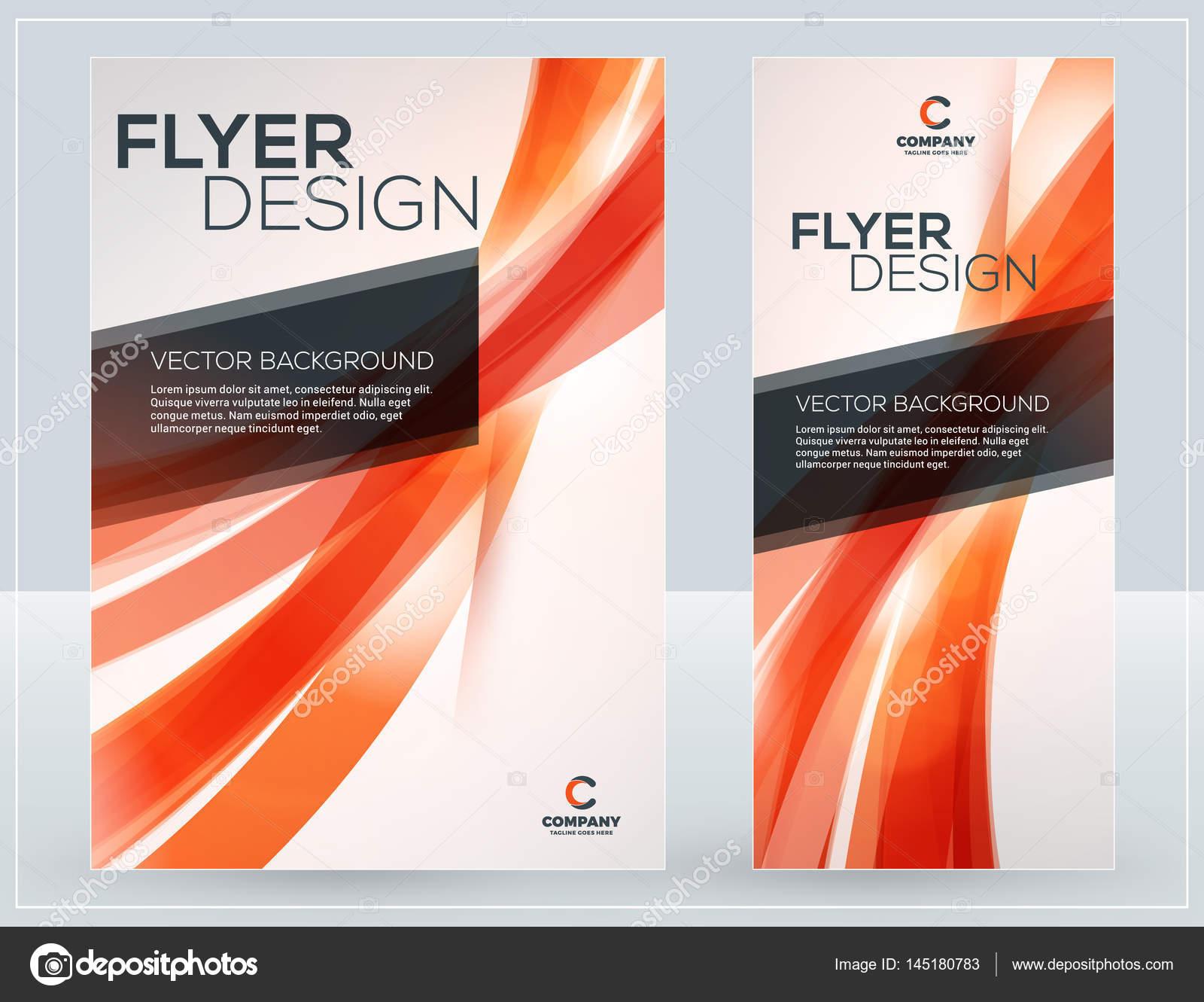 Vektör Iş Broşür Kapak Veya Afiş Tasarım şablonları Arka Plan