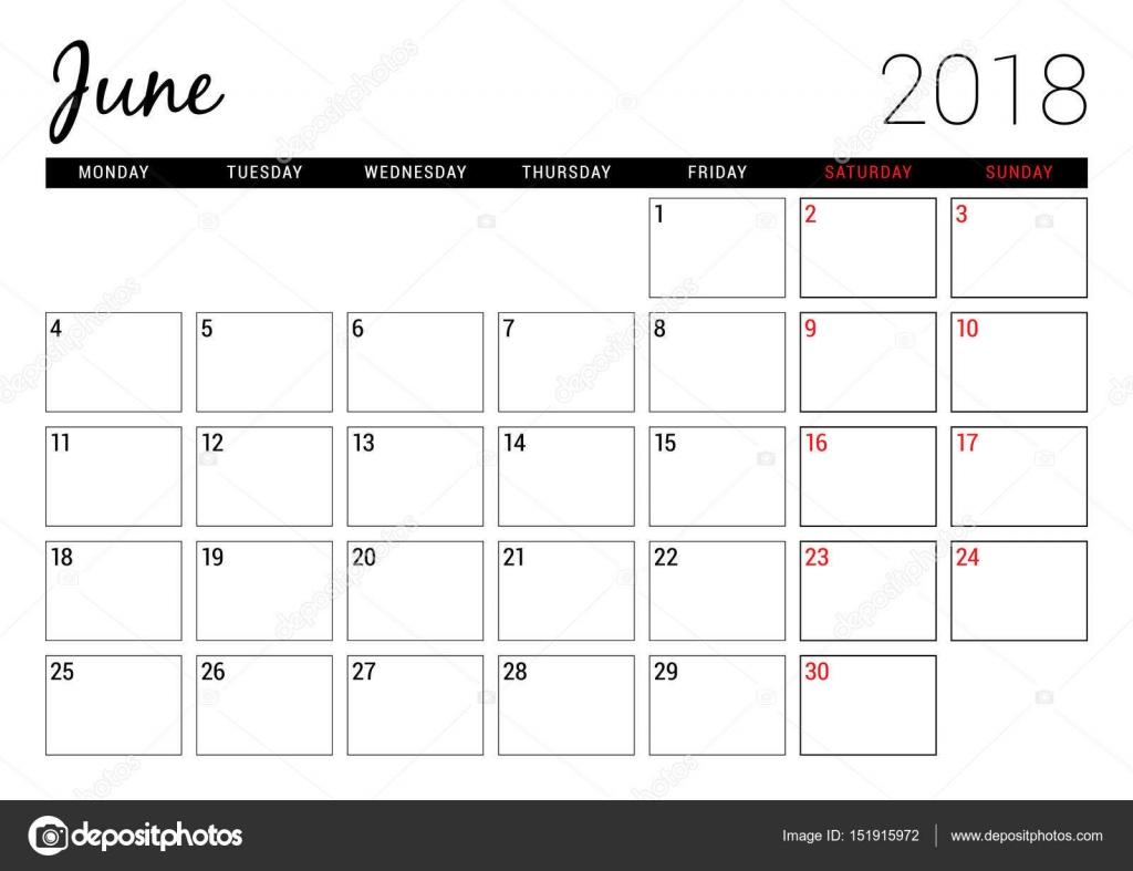 blank calendar planner